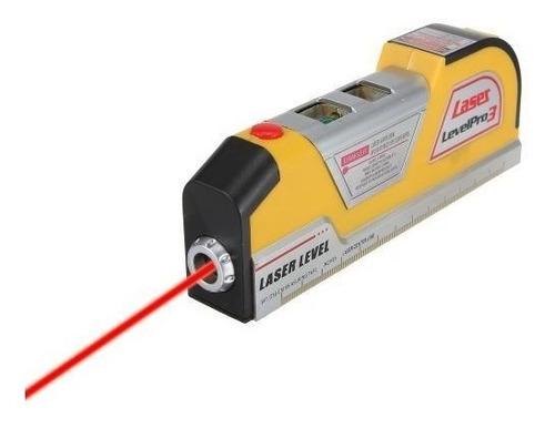 nivel laser profissional base magnetica com trena level pro