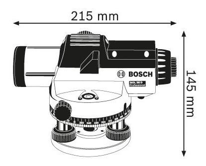 nivel optico bosch gol 26 d alcance 100 metros 26 aumentos