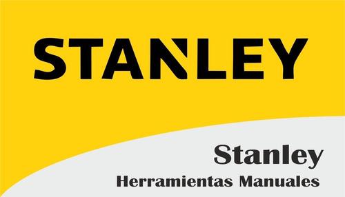 nivel stanley 24'' 609mm resina estructural 3 burbujas 42468