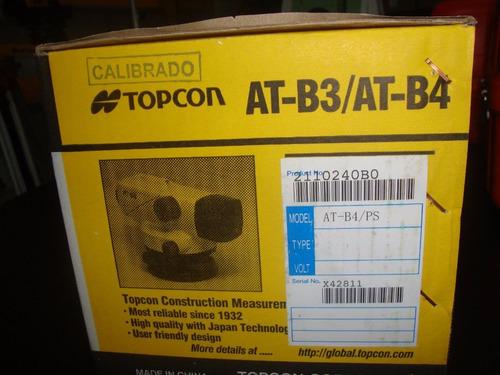 nivel topcon at-b4a nuevo en caja nivel topcon