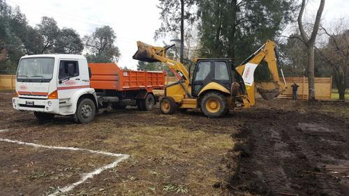 nivelacion de terrenos - movimiento de suelo - zanjeo