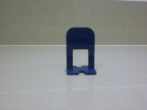 nivelador de piso 1mm pacote c/50 fabio123