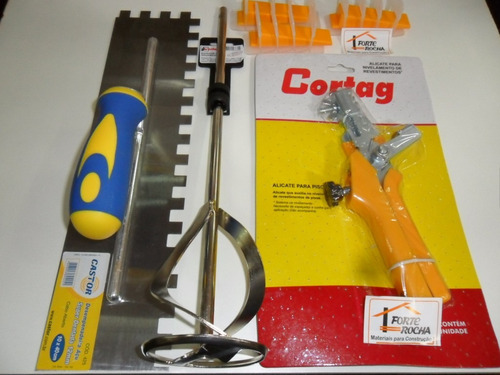 nivelador de piso cortag kit bronze espaçador 1,5mm