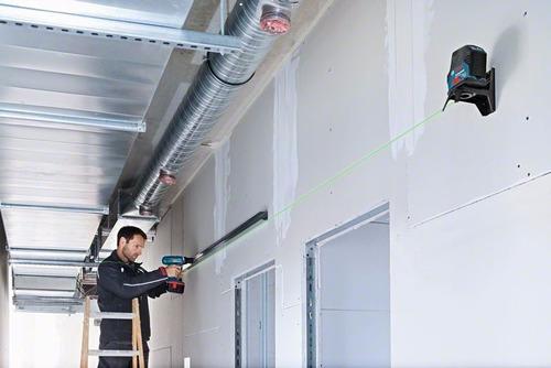 nivelador laser combinado bosch gcl 2-15 g verde lanzamiento