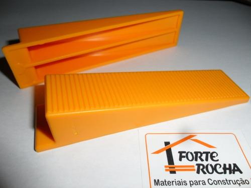nivelador piso cortag 1alicate+100cunha+1000 espaçador 1.0mm