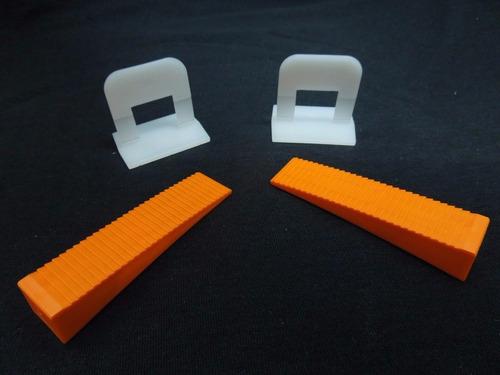 nivelador separador tabiplast 600 arcos + 150 cuñas+ 1 pinza