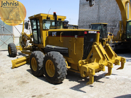 niveladora cat 140h 2007 y 140h 1999, ripper, recien import