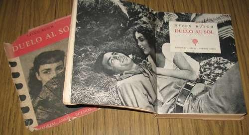 niven busch : duelo al sol - 1947 novela - clásico