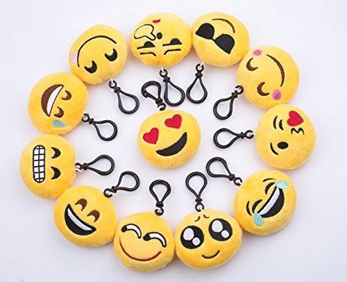 niviy emoji felpa llavero lindo mini felpa almohadas clave c