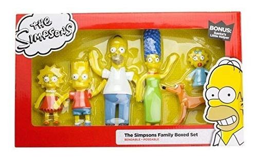 nj croce simpsons family boxed set figura de accion