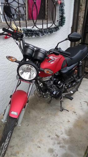 nkd 125 negro, rojo mate modelo 2020