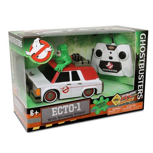 nkok ghostbusters rc ecto-1 con vehículo más delgado