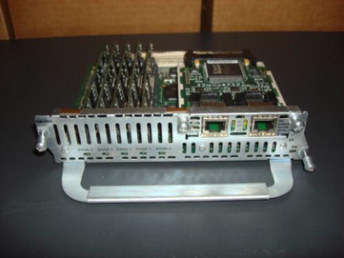 nm-hdv + vwic-2mft-e1 + 5 pdvm , pronto para 60 canais