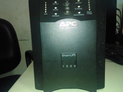 no break  apc  smart ups 1000va  usb 120v  sua 1000