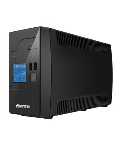 no break forza rt-601lcd - 600 va, 360 w