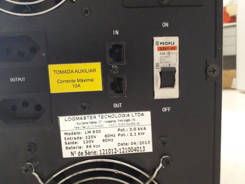 no break monofásico logmaster ea 930 - logmaster