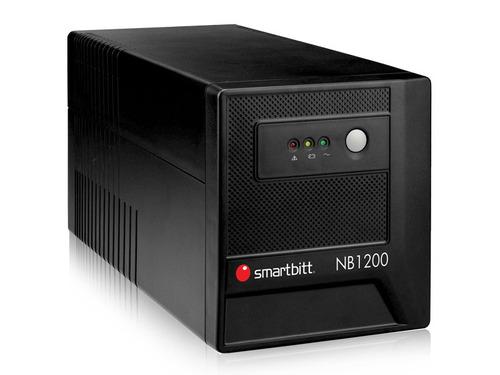 no break smartbitt 600w 8 contactos regulador sbnb1200