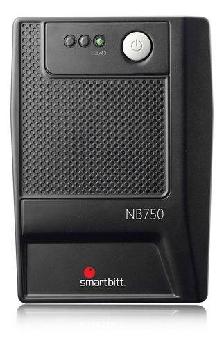 no break smartbitt sbnb750 750va 375w 6 cont 35 min con reg