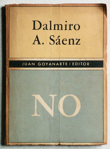 no / dalmiro a. sáenz (ed. 1965)