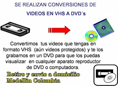 no dejes perder tus filmaciones y cintas de video