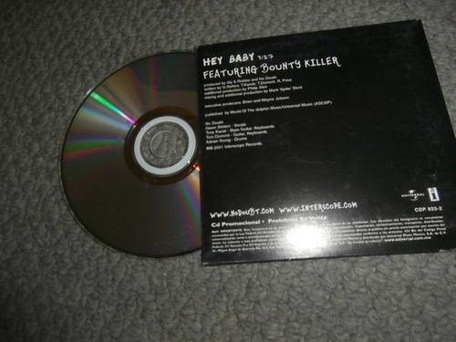no doubt disco cd sencillo promocional hey baby