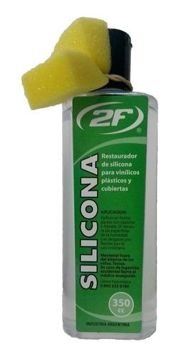 no en venta - silicona 2f para el auto liquida