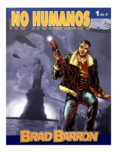 no humanos - brad barron num. 1 - aleta ediciones