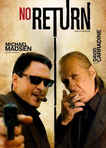 no return - dvd - michael madsen - david carradine