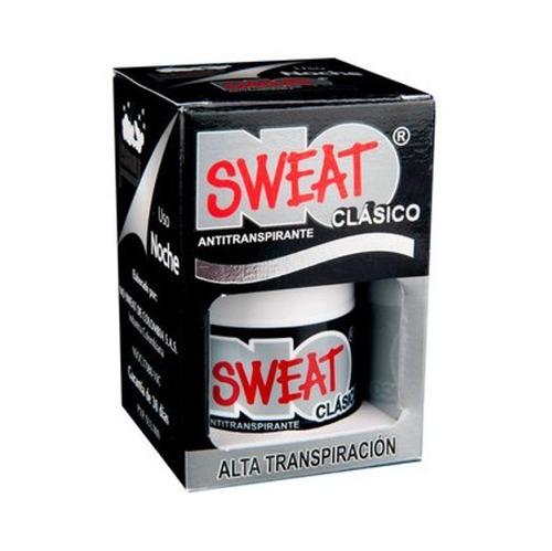 no sweat negro antitraspirante sudoración excesiva