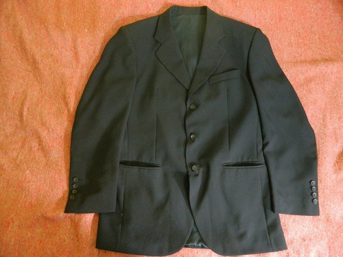 ¡¡no te lo pierdas!!  hermoso traje negro marca rinaldi