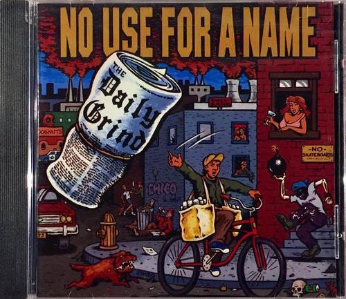 no use for a name - the daily grind - cd importado lacrado