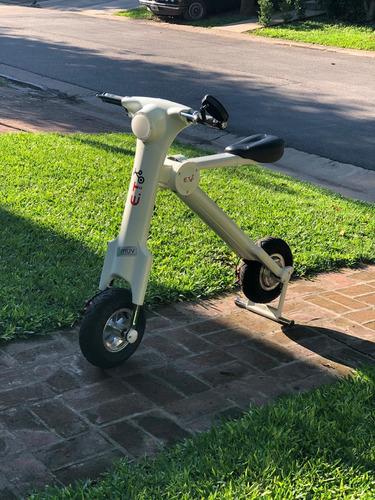 no uses el bondi : scooter eléctrico plegable  - u$s 650