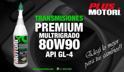 no venta aceite transmision 80w90 gl 4 plus motori