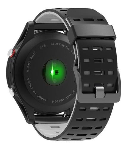 no.1 f5 bluetooth watch - podómetro, monitor del sueño, frec
