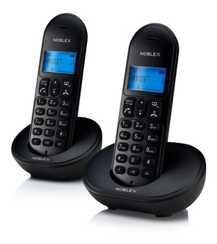 noblex ndt4000tw telefono inalambrico duo manos libres