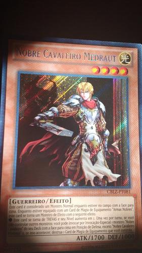 nobre cavaleiro medraut - secreta rara