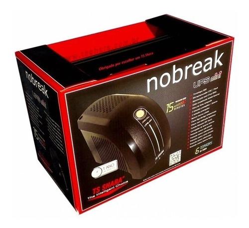 nobreak 500va ups mini ts shara monovolt 115v
