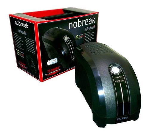 nobreak 600va ts shara ups mini mono 115v com nota fiscal