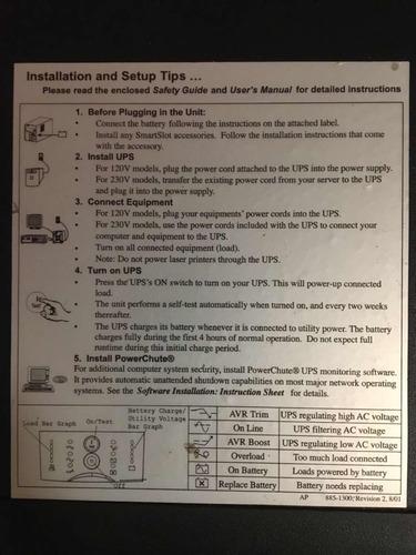 nobreak apc smart-ups 3000 kva