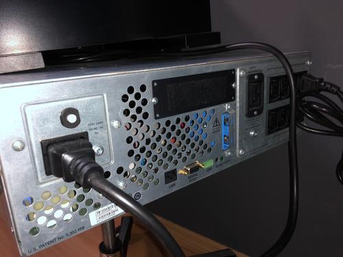 nobreak apc sua3000rmxli3u smart-ups 3,0 kva (3000va) 230 ra
