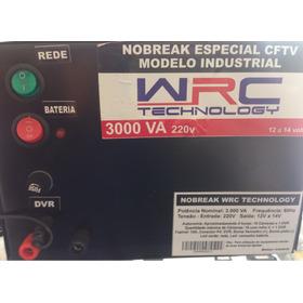 Nobreak Industrial P/ 8 Câmeras Cftv Dura Até 4 Horas 3000va