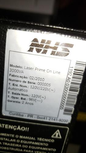 nobreak nhs online prime 3000va com monitoramento remoto