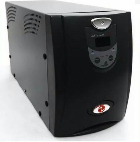 nobreak ragtech 3200 infinium digital  bi modulo de bateria