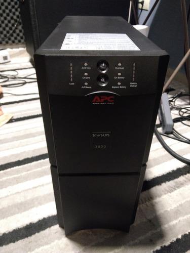nobreak smart ups 3000va apc, baterias ok. plug padrão novo