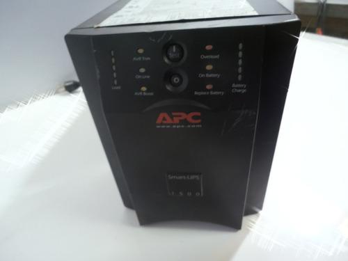 nobreak smart ups apc 1500 va 120 v s/ bat tomada antiga