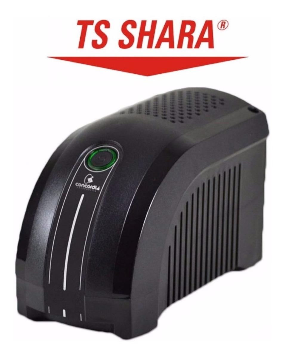 Nobreak Ups Mini 600va Bivolt 115/220v C/ Bateria - Ts Shara