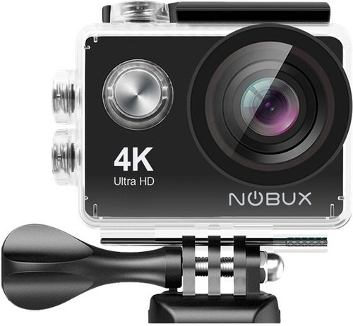 nobux camara de accion 4k sumergible con 18 accesorios