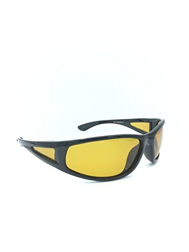 c3777dff00 noche conducción amarillo lente anteojos de sol polarizados ...