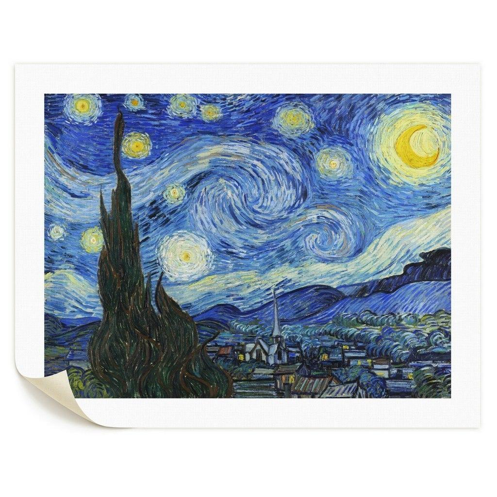 Noche Estrellada De Vincent Van Gogh Lienzo A Envio Gratis  # Vang Gogh Muebles