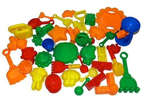 noche leones tech 39 piezas a granel de arena moldes juguet